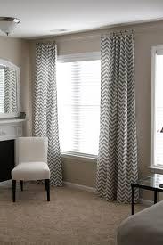 Gray Chevron Curtains Uk by Chevron Gray Curtain Panels Rare Best Grey Curtains Ideas On