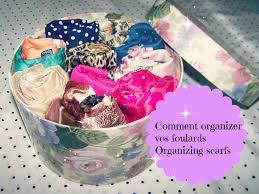 comment ranger ses foulards organizing your hijabs طرق ترتيب