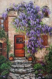100 Blooming House House Alla Vasilkova ArtsUAcom