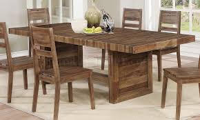 Tucson Dining Table 108177 In Varied Natural