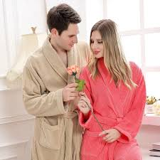 kimono robe de chambre femme coton peignoir femme peignoir femmes robe de chambre hommes