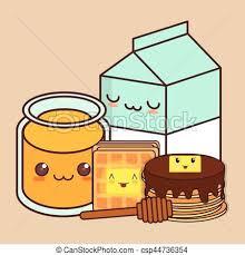 Kawaii Foods Food Icon Image Drawings Tumblr