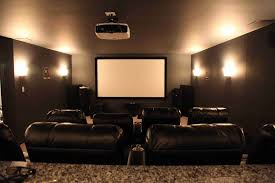 home theater wall sconces cinema wall lighting ideas four wall