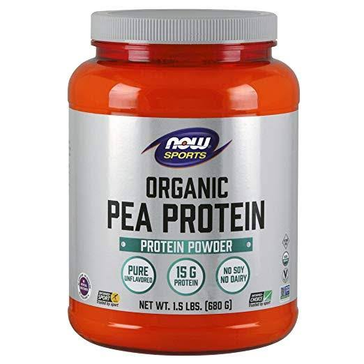 Now Foods Organic Pea Protein Powder - 680g