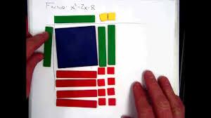 algebra tiles factoring factoring polynomials with algebra tiles 2