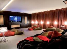 Minimalist Entertainment Room With Black Leather Couch And Black ... Home Theater Wiring Pictures Options Tips Ideas Hgtv Room New How To Make A Decoration Interior Romantic Small With Pink Sofa And Curtains In Estate Residence Decor Pinterest Breathtaking Best Design Idea Home Stage Fill Sand Avs Forum How To Design A Theater Room 5 Systems Living Lightandwiregallerycom Amazing Modern Eertainment Over Size Black Framed Lcd Surround Sound System Klipsch R 28f Idolza Decor 2014 Luxury Knowhunger Large Screen Attched On