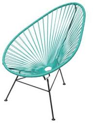 Innit Acapulco Rocking Chair by Innit Designs Acapulco Rocker Grey Weave On Black Frame By Innit