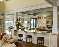 Traditional Kitchen Open Concept Design Pictures Remodel Decor And Ideas