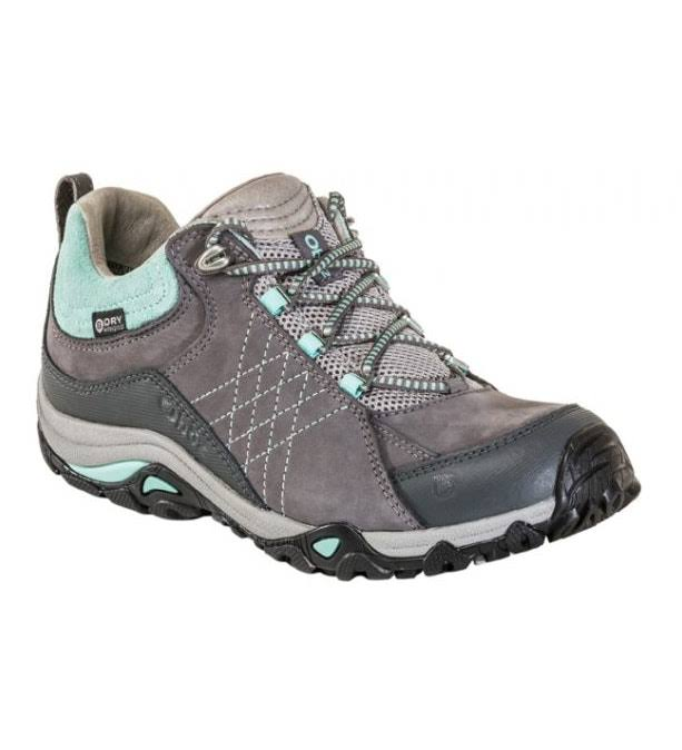 Oboz Womens Sapphire Hiking Shoes - Charcoal/Beach, Size 8