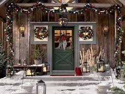 Christmas Rustic Decor Image Ideas Outdoor Decorating