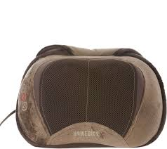 Massage Chair Pad Homedics by Homedics 3d Shiatsu Heated Massage Pillow With Cover And Strap