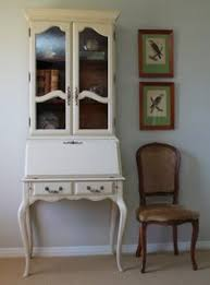 Ethan Allen Secretary Desk With Hutch by Nesting Painting Purging Table And Chairs Furniture And Dining