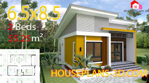 100 Housedesign Small House Design 65x85 With 2 Bedrooms