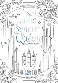 The Snow Queen Colouring Book By Helen Crawford White