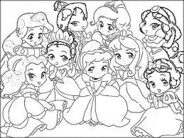 Disney Princess Coloring Pages To Print Free Color Zini