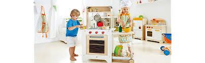 hape cook n serve wooden kitchen play set kitchen playsets