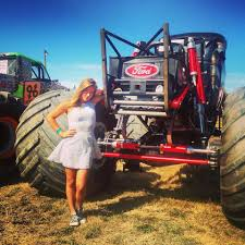100 Monster Truck Driver Worlds Youngest Pro Female 19year Old