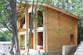 maison bois lamelle colle chalet en bois lamellé collé 84 м til 37600