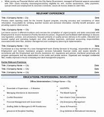 Resume Title And Company Date Elegant Business Administration Sample Amp