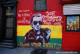 new york joe strummer wall more info at www antineamedia c flickr