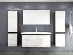homeline badmöbel set cobra 90 badmöbel set 90 cm schwarz weiss marmor optik hochglanz badezimmermöbel bad 6 teilg 6 tlg kaufen otto