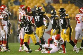 Steelers Behind The Steel Curtain by With Bell Villanueva And Brown Out Of The Way The Steelers Now