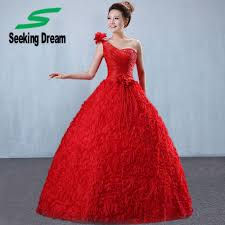 online get cheap bride dress red aliexpress com alibaba group