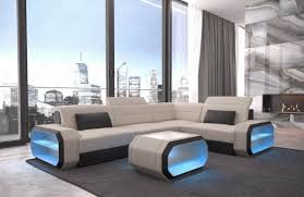 100 Seattle Modern Furniture Stores Fabric Sectional Sofa LED