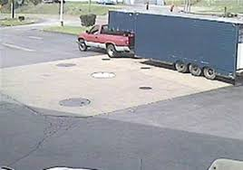 Truck Parked Over Station's Tanks Used To Steal Diesel Fuel ...