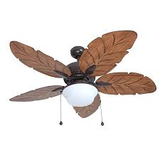 Harbor Breeze Dual Blade Ceiling Fan by Shop Harbor Breeze Waveport 52 In Weathered Bronze Indoor Outdoor