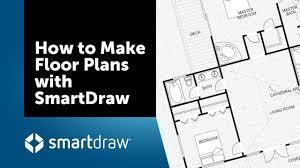 Make A Floor Plan How To Make Floor Plans With Smartdraw S Floor Plan Creator And Designer