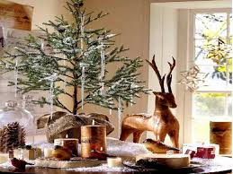 Christmas Dining Room Table Decorations With Deer