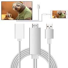 Lightning to HDMI Cable Adapter 1080P iPhone to HDMI Cable Adapter