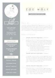 Fashion Stylist Resume Photo Objective Examples Sample Retail