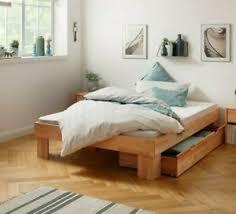 details zu bett massivholzbett lars futonbett kernbuche geölt 140x200cm schlafzimmer bett