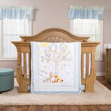 trend lab forest tales 6 piece crib bedding set baby baby