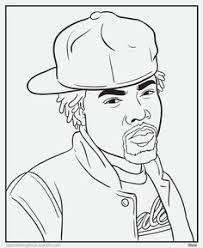 Rap Coloring And Activity Pages Bun BColouring