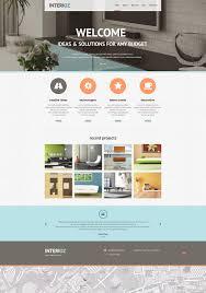 100 Cool Interior Design Websites Website Template 46815 Interioz Custom