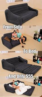 new intex inflatable couch bed on sale