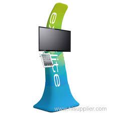Portable Ipad TV Trade Show Display