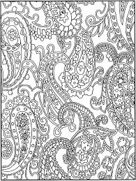 From Creative Haven Crazy Paisley Coloring Book By Dover Publications
