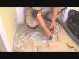 how to level a floor with cork underlayment part 2 of 4 glue