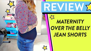 liz lange maternity jean shorts quick review maternity clothes