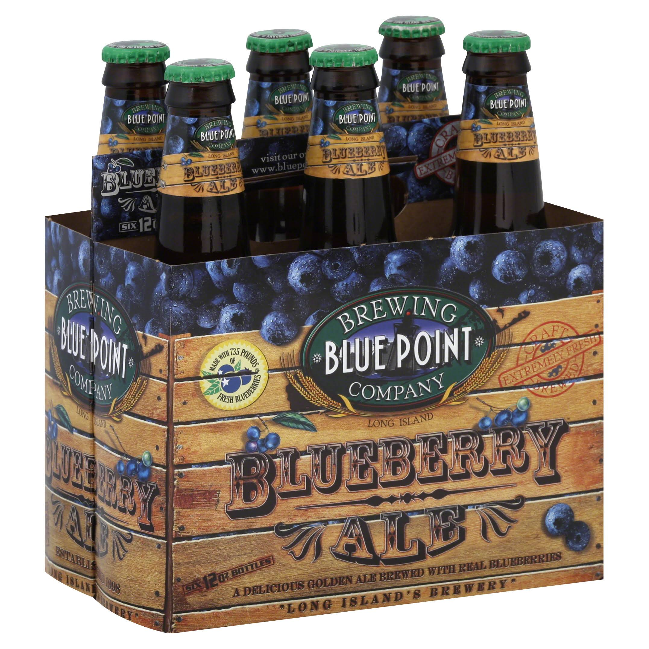 Blue Point Blueberry Ale - 6pk, 12oz