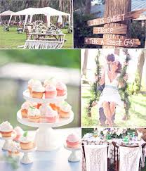 Summer Rustic Wedding Idea And Decor