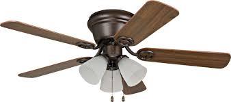 Harbor Breeze 52 Inch Centreville Ceiling Fan by Ellington Wc42bnk5c3f Wyman Brushed Nickel Flush Mount 42