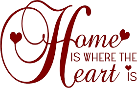Home Is Where The Heart Art