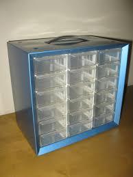 Akro Mils Storage Cabinet by Vintage Metal Storage Cabinet Bin With 18 Drawers Organizer