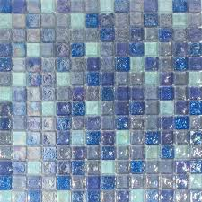 Iridescent Mosaic Tiles Uk by Hammered Light Blue Mix Glass Mosaic 20x20 Glass Mosaic Tiles