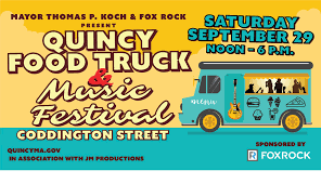 Quincy's Food Truck & Music Festival 2018 @ , Boston [29 September]